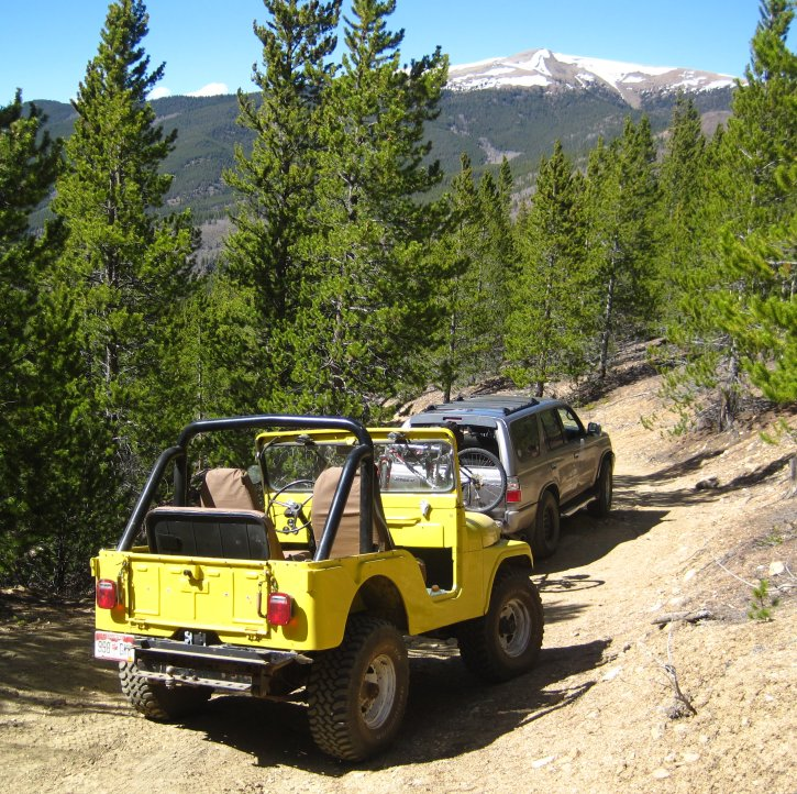 Activities - Jeeping And 4x4 Off Roading