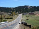 Highway 24 trhough Florissant, CO