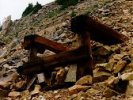 Mine tailings at the Fortune Mine in Colorado