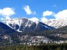Mt Columbia near Buena Vista, CO in winter
