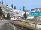 On highway 24 entering Granite, CO