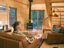 Mount Princeton Hot Springs Cabin inside