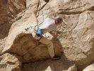 Rock climbing in Chaffee County Colorado