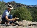 Rock hounding near Buena Vista, CO